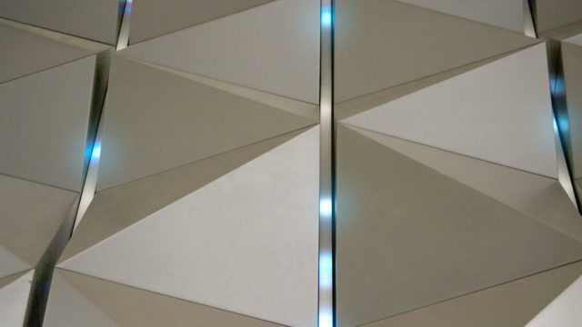 Vulcan Reactive LED Wall Feature